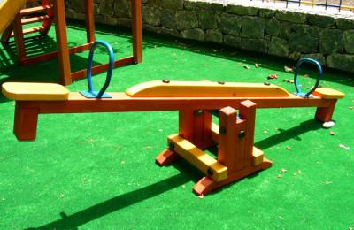 Παιδικές Χαρές – Ξύλινη Τραμπάλα – Κωδ:001n