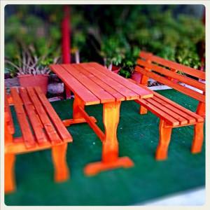 Έπιπλα Κήπου – Έπιπλα Βεράντας – επιπλα εξωτερικου χωρου - Σετ τραπέζι με παγκάκια
