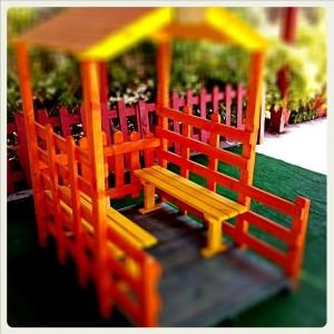 Έπιπλα Κήπου – Παιδικές Χαρές – Παιδικό Σπιτάκι– Κωδ:019