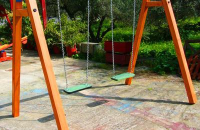 Παιδικές Χαρές – Διπλή Κούνια με Καθίσματα Παίδων – Κωδ:043