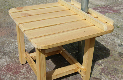 Ειδικές Κατασκευές από ξύλο – Τραπεζάκι Παραλίας – Κωδ:025