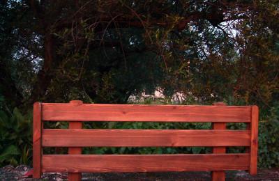 Έπιπλα για κήπο – Χειροποίητος Ξύλινος Φράχτης – Κωδ:fen12
