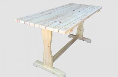 Χειροποίητο Ξύλινο Τραπέζι – Κωδ:t010