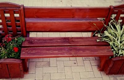 Ζαρντινιέρα – Παγκάκι με γλάστρες και καφασωτό – Κωδ.: 15-06