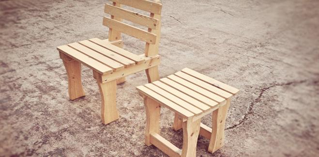 Χειροποίητα Έπιπλα – Σκαμπό – Καρέκλα