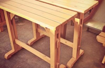 Ψηλό Τραπέζι – Πάγκος για καφετέρια – Κωδ. 045