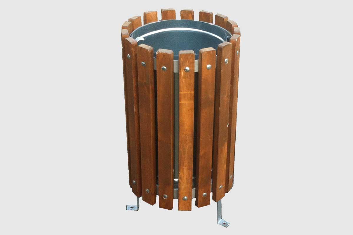 Καλαθάκι απορριμμάτων από ξύλο – Κωδ: 15-12