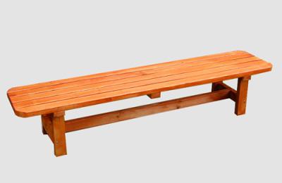 Ξύλινο παγκάκι χαμηλό