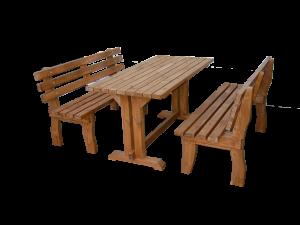 Σετ τραπέζι με παγκάκια