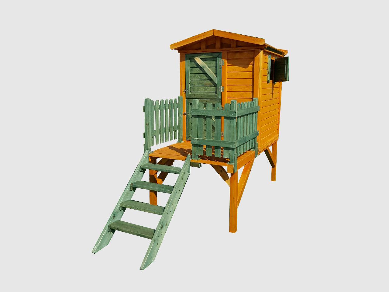 b98ad8c33c06 Ονειρεμένο ξύλινο σπιτάκι για τα παιδιά - Δενδρόσπιτο