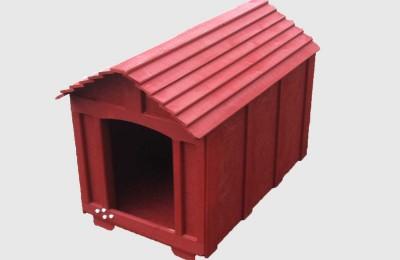 Ξύλινο σπιτάκι για σκύλους – Κωδ: 01-15
