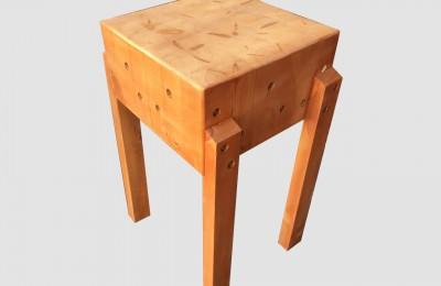 Τετράγωνος Πάγκος Κοπής – Κούτσουρο από ξυλεία πεύκης  – Κωδ. :16-09