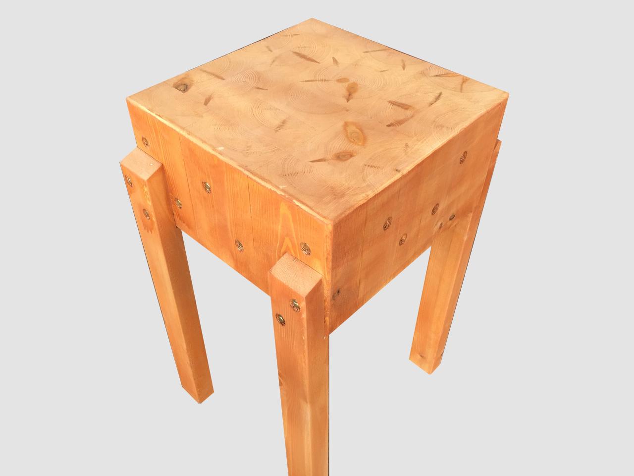 Πάγκος Κοπής - Κούτσουρο από ξύλο οξιάς