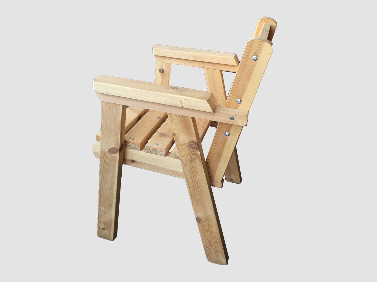 ξυλινη καρεκλα με μπράτσο