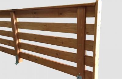 Ξύλινος φράχτης – Κωδ:16-04