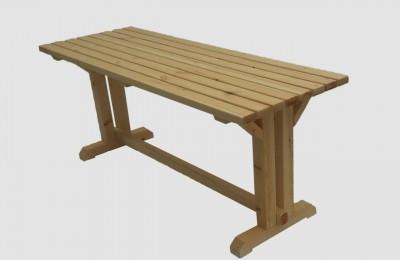 Ξύλινο τραπέζι εσωτερικού & εξωτερικού χώρου – Κωδ. 16-06