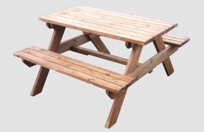 Τραπέζι Πικ Νικ – Ξύλινος Τραπεζόπαγκος – Κωδ:008