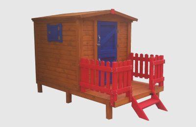 Ξύλινο Σπιτάκι Παιδικό για Κήπο – Κωδ.: 15-99