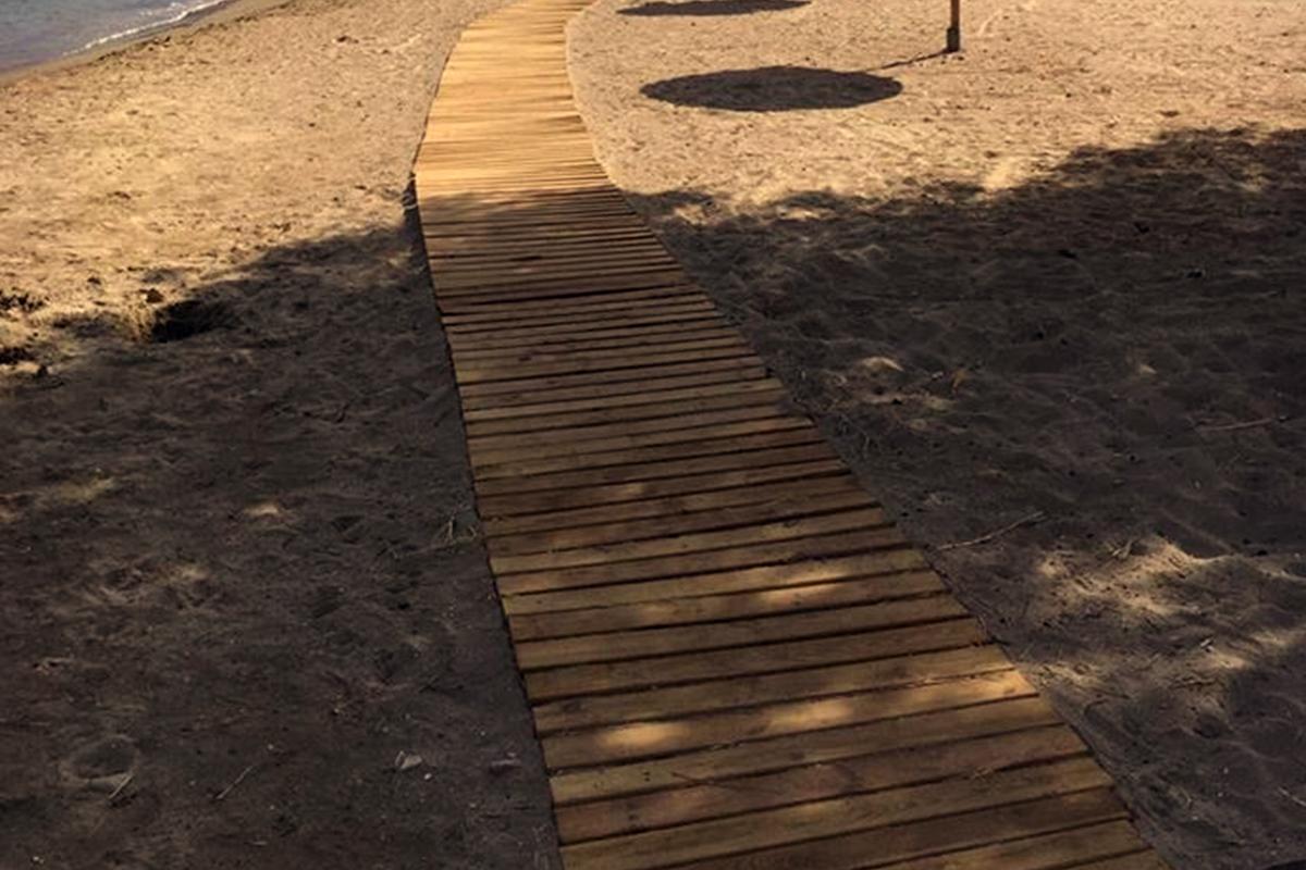 Διάδρομος παραλίας