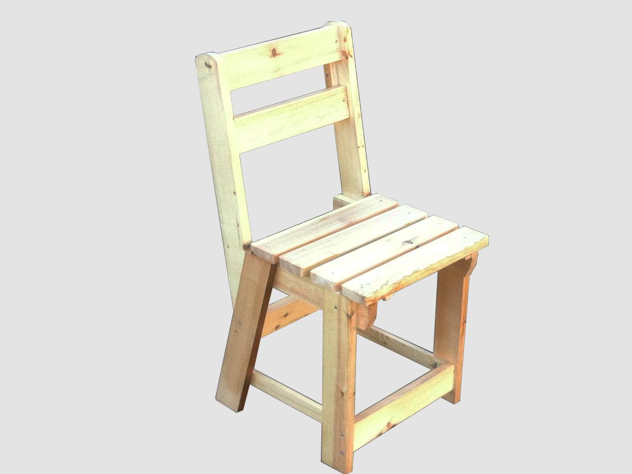 Ξύλινη Καρέκλα – Κωδ. : 17-99